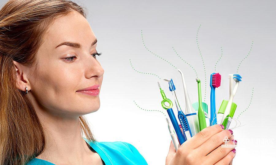 Широкий выбор зубных щеток